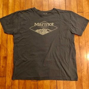 Men's Marmot Short Sleeve Graphic Tee Size XL